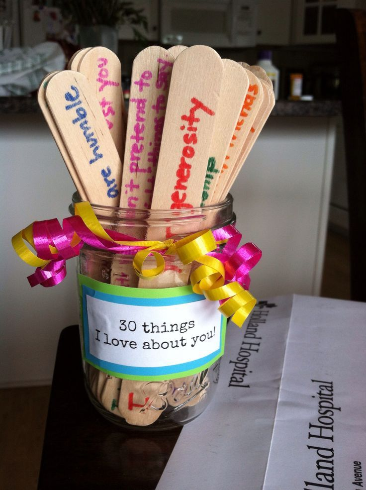 Awesome Birthday Gift Baskets : It would be cool if you could make this the jar of dares