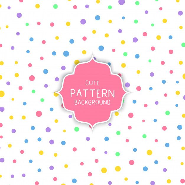 Download Cute Circle Pattern Background For Free Background Patterns Circle Pattern Kids Patterns