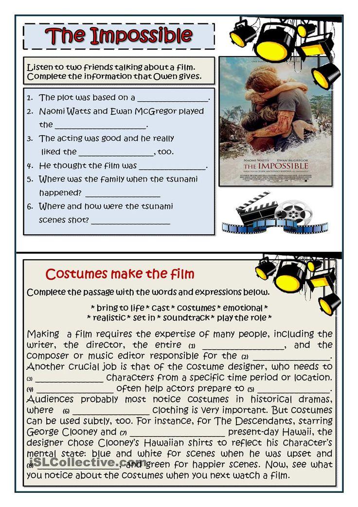 DESCRIBING FILMS