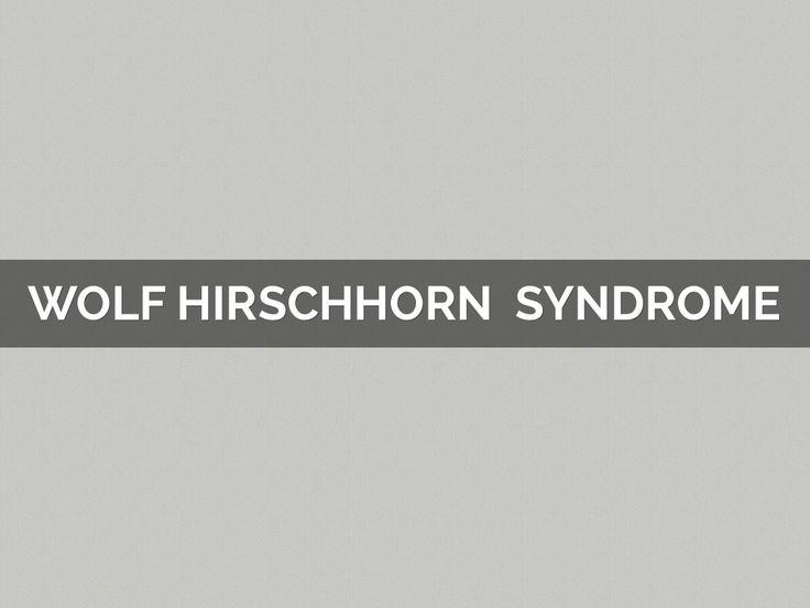 """""""Wolf Hirschhorn Syndrome"""" - A Haiku Deck #setyourstoryfree"""