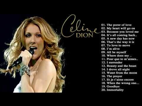 Celine Dion Greatest hits Cover full album new 2017 - YouTube