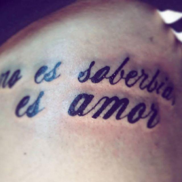 #noessoberbiaesamor  Poder decir adiós, es crecer.  #tattoo #pinktattoo #tattooart #tattoodeldia
