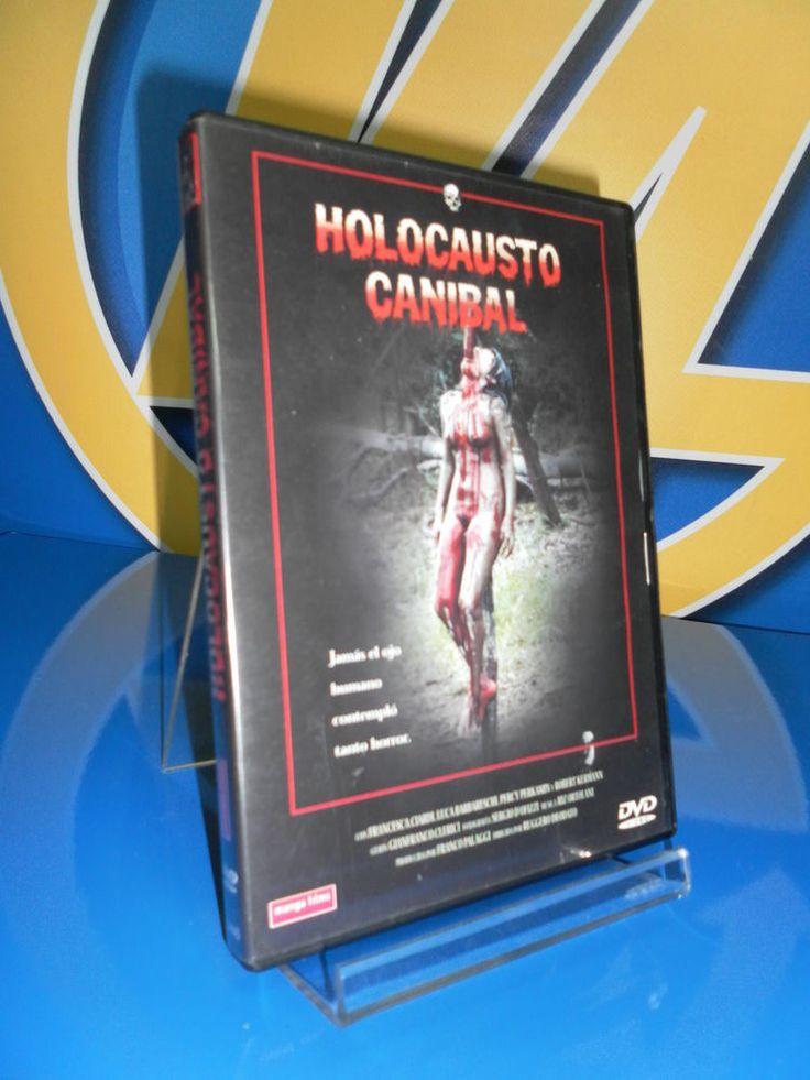 Pelicula EN DVD HOLOCAUSTO CANIBAL. Buen estado