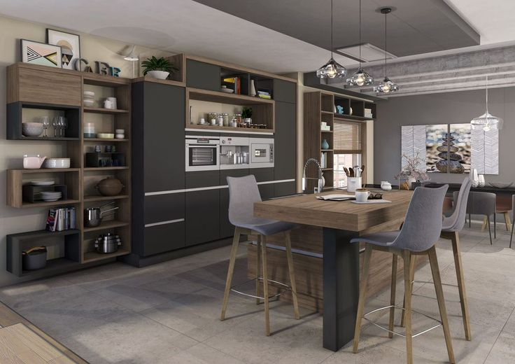 32 best Kitchens images on Pinterest Dining room, New kitchen and - comment monter une cuisine brico depot