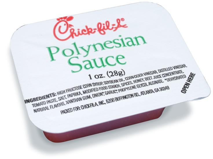 Polynesian sauce ingredients   1/2 cup Pineapple juice     1/4 cup Honey     3 tbsp. worchestershire sause     1 1/2 tsp. Ground ginger     1 tsp. Salt     1/2 tsp. garlic @Katie Schmeltzer Schmeltzer Schmeltzer Benishek