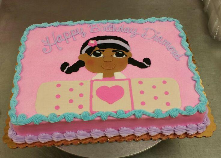 Doc Mcstuffins cake   Cakes   Pinterest