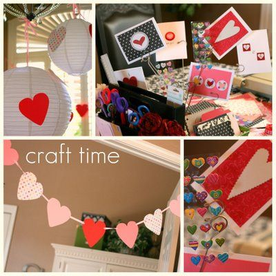 valentine crafting party 2009