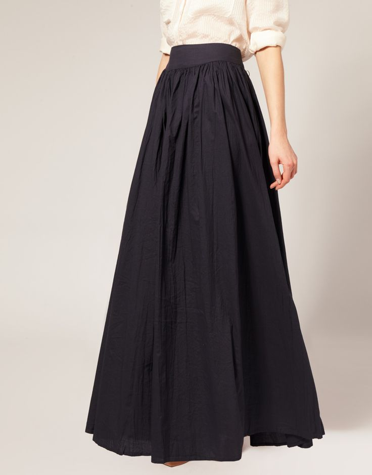French Connection maxi skirt. Love.