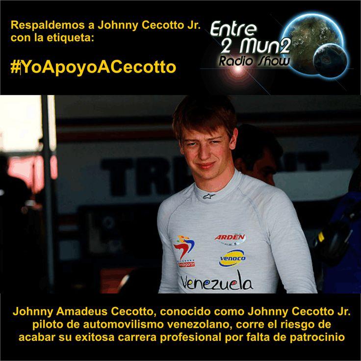 Ánimo @JCecotto @johnnycecotto1 y siempre adelante #YoApoyoACecotto