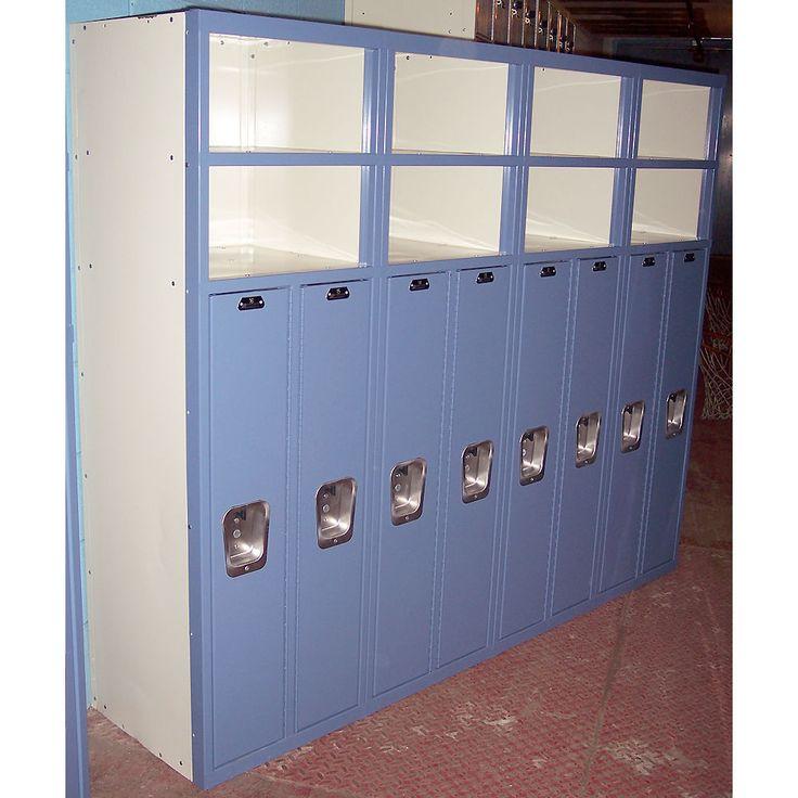 List Industries Superior 8 Door Lockers Metal Kids School Gym Work Storage Shelf | Business & Industrial, MRO & Industrial Supply, Material Handling | eBay!