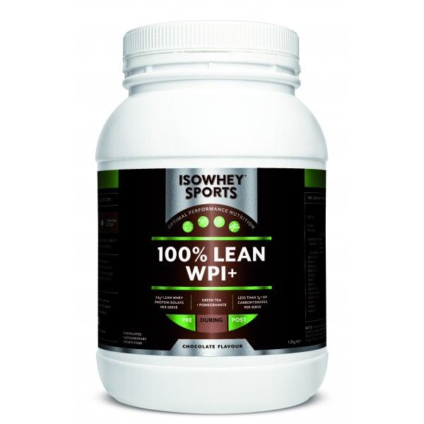 IsoWhey® Sports 100% Lean WPI+ - IsoWhey® Sports - Supplements/Nutrition