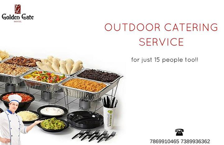 Now plan your parties without worrying about the food! Hotel #GoldenGate a budget #restaurant in #Indore, proffers outdoor #catering services for all kinds of events.