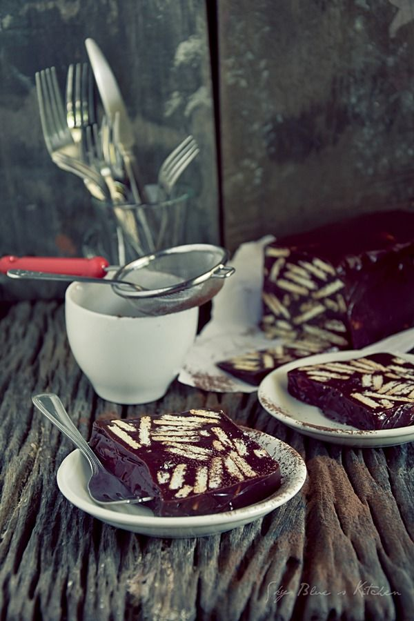 Kek Batik Coklat