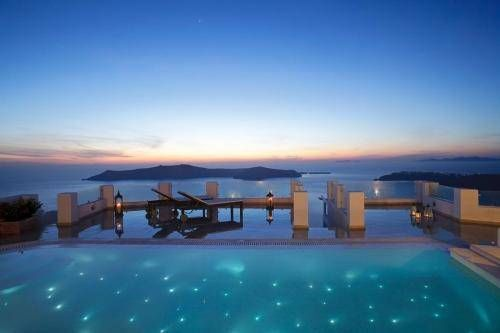 Treat yourself to a stay in the amazing Above Blue Suites at Santorini, Greece