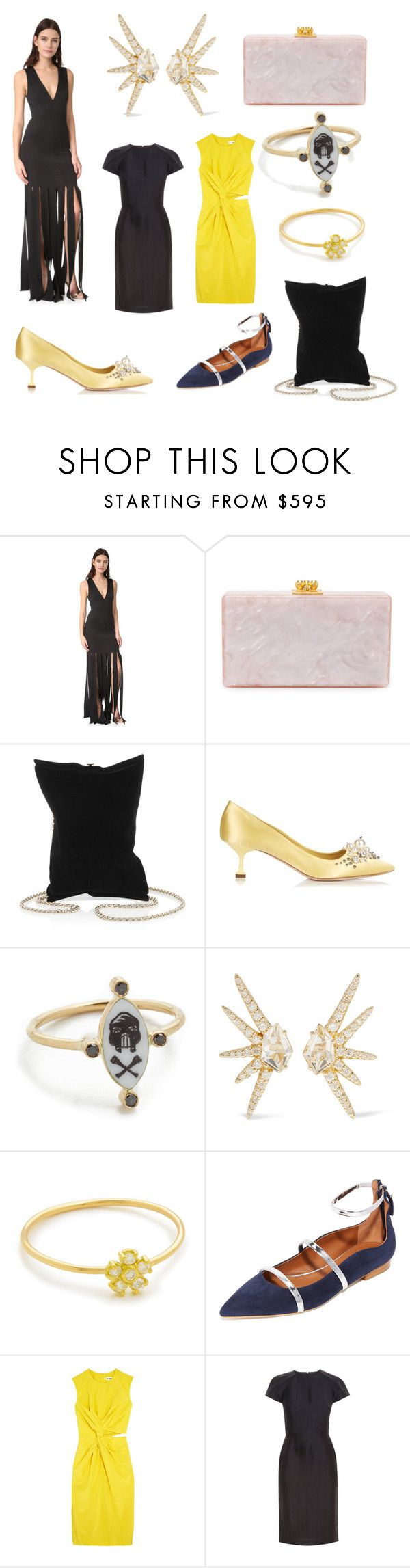 """""""Hot Sale Started...."""" by cate-jennifer on Polyvore featuring Zac Posen, Edie Parker, Anya Hindmarch, Miu Miu, Holly Dyment, Alexis Bittar, Jennifer Meyer Jewelry, Malone Souliers, Jil Sander and Martin Grant"""