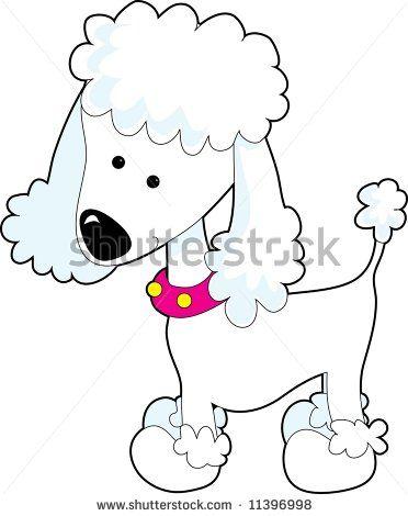 <b>cute cartoon</b> poodle   собаки   Рисунки, Иллюстрации и Шаблоны