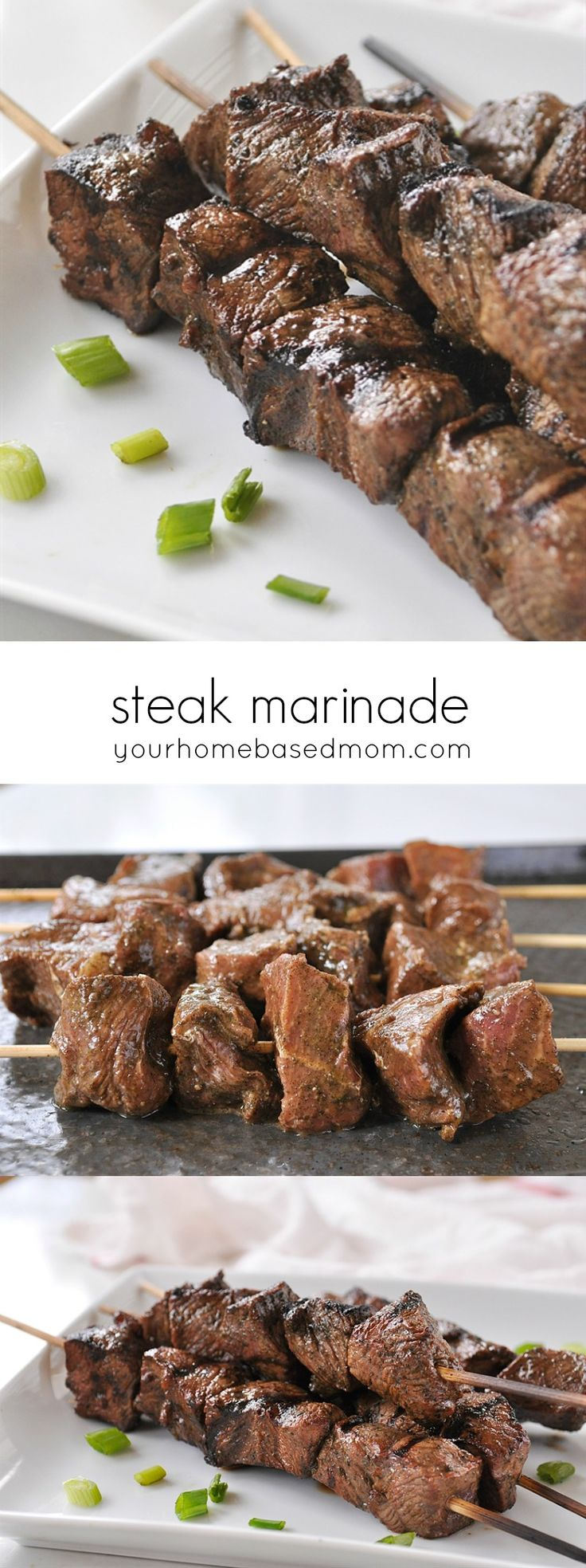 This flavorful steak marinade comes together easily and works perfect on lots of different cuts of meat. Shiskabob is a favorite summer…