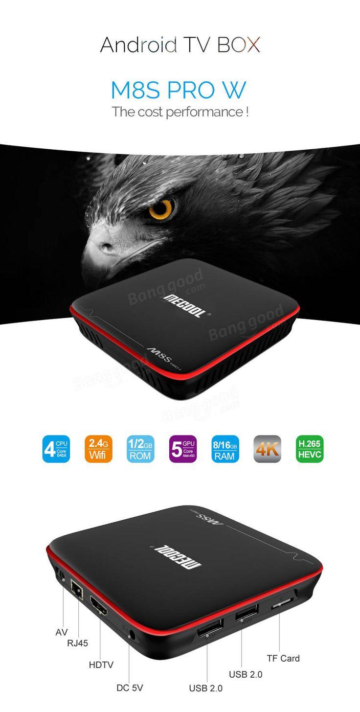 Mecool M8S PRO W S905W 2GB RAM 16GB ROM TV Box  #audio  #video