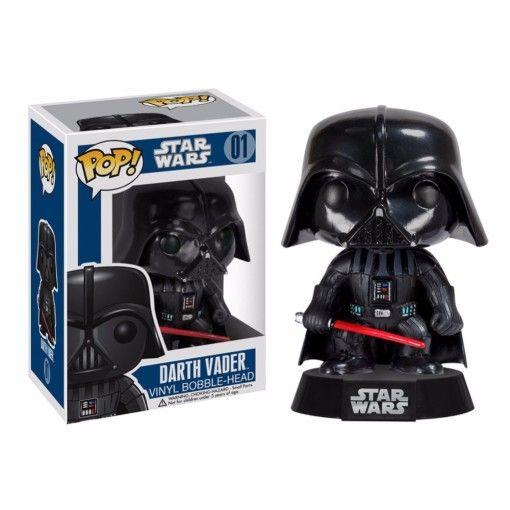 10-CM-nova-Funko-PoP-Star-Wars-Darth-Vader-de-cabeça-de-vinil-figura-de-ação