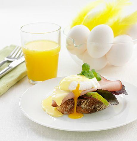 Ägg benedict - Svenska Ägg