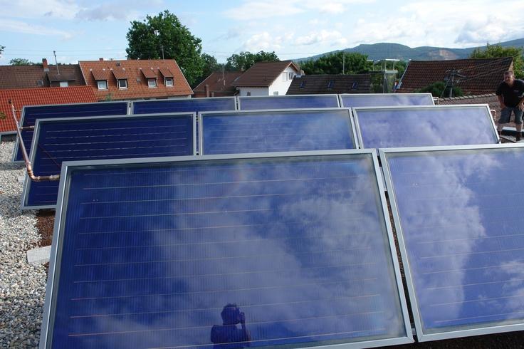 Thermische Solaranlage