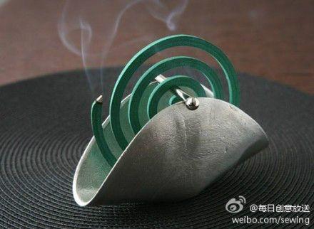 简易的蚊香盘设计