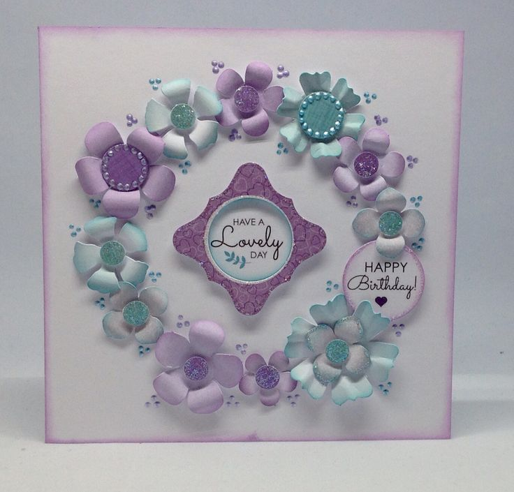 Card created using Julie Loves Hearts and Flowers Project Kit, by Julie Hickey www.craftworkcards.com