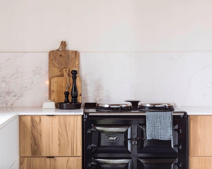 Keuken marmer wit - Credenza voor keuken ...