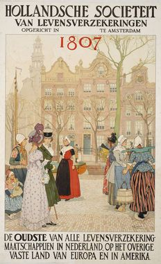 Henri Cassiers - Hollandsche Societeit van Levensverzekeringen - 1910