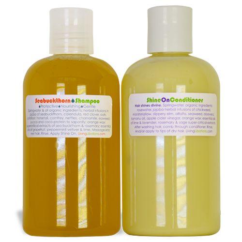 Seabuckthorn Shampoo & Shine On Conditioner Duo