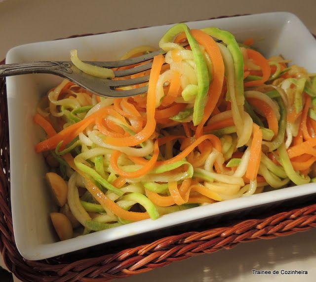 Uma opção deliciosa e saudável, a única coisa que faltou foi a salsinha para dar um colorido a mais no prato, mas como não falava na recei...