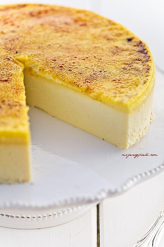 Creme Brûlée Cheesecake Recipe | Cakes, Cookies & Pies | Pinterest ...