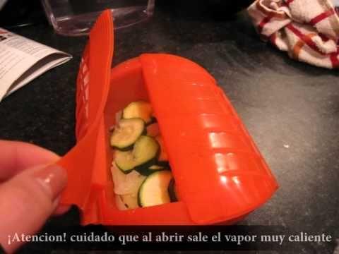 Salmon con calabacin (LEKUE) Estuches y moldes Lekue a la venta aquí: http://www.cornergp.com/tienda?bus=lekue