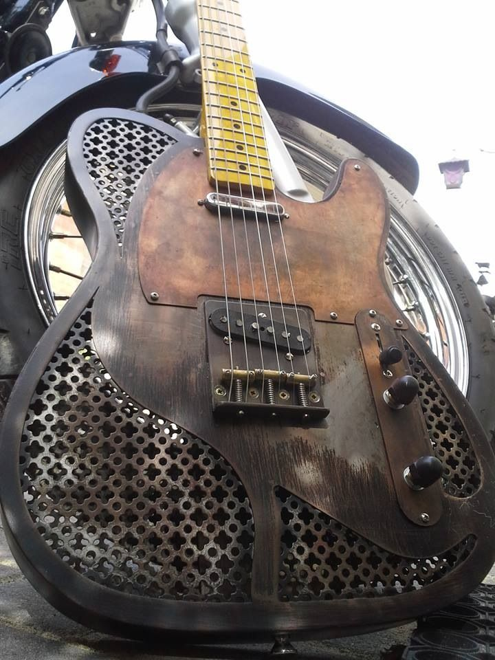 Custom made D guitar