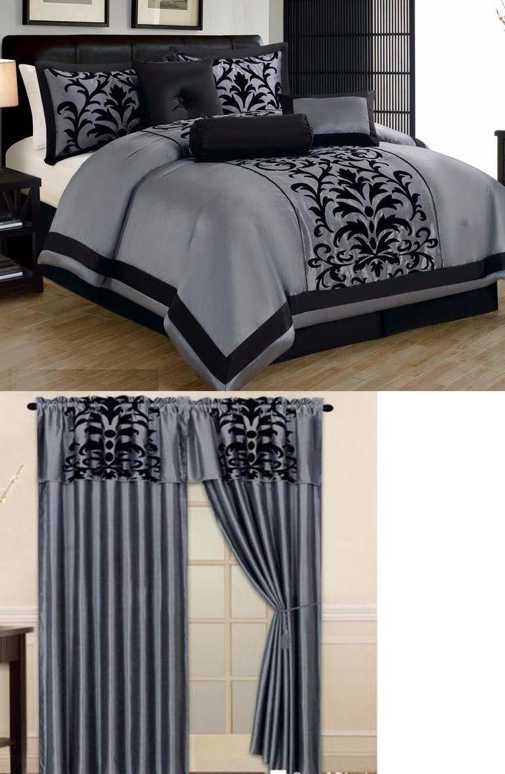 Best 25 Black Comforter Ideas On Pinterest Comforters