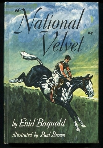 Love. :) This was followed by other horse books - Misty of Chincoteague, Black Beauty...I so wanted to ride.