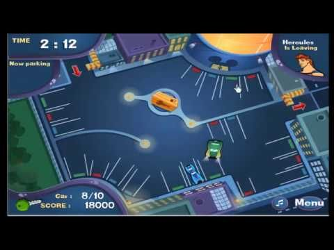Mickey Mouse Parking Packers   Animal game