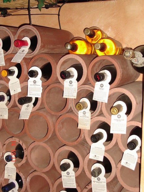 Wijn flessen - opslag ideeën