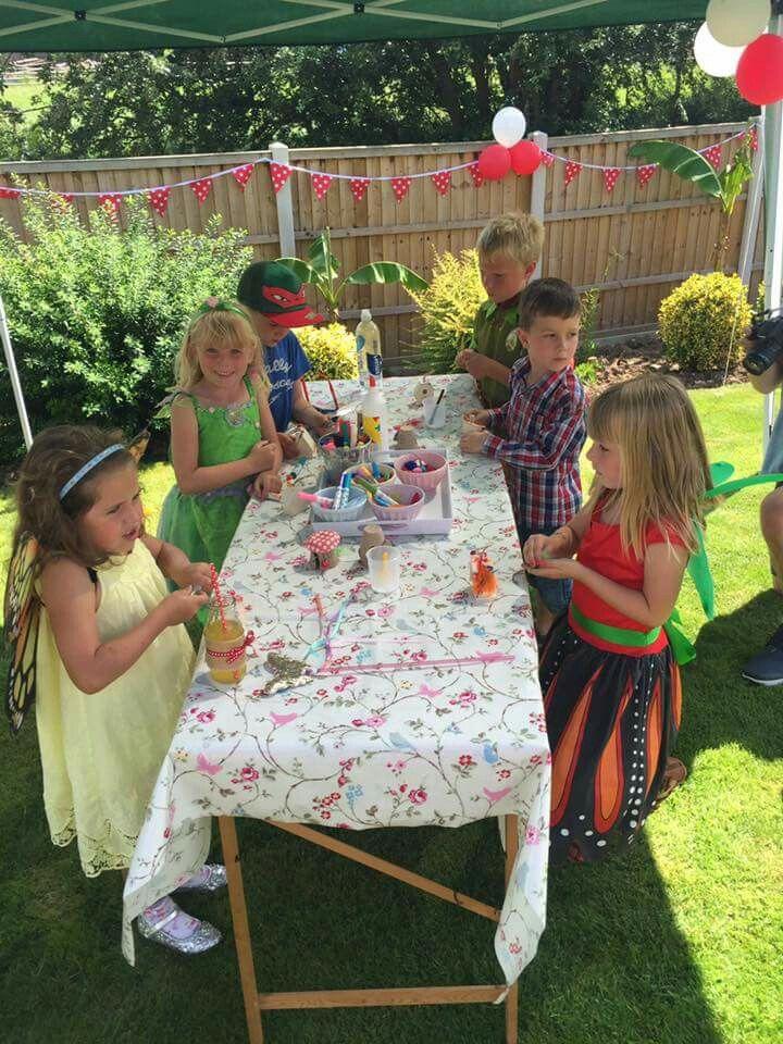 Evelyns fairy folk party