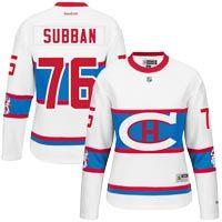 PK Subban Montreal Canadiens 2016 Women's NHL Winter Classic Premier Replica: Celebrate a… #IceHockeyStore #IceHockeyShop #IceHockeyJerseys