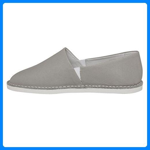 Leder Espadrilles SHW1170133 Farbe: grey, Größe: 37 - Espadrilles für frauen (*Partner-Link)