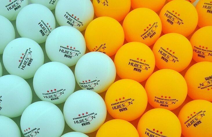 20pcs/lot Yellow and White  3-Star 40mm Table Tennis Balls Ping Pong balls