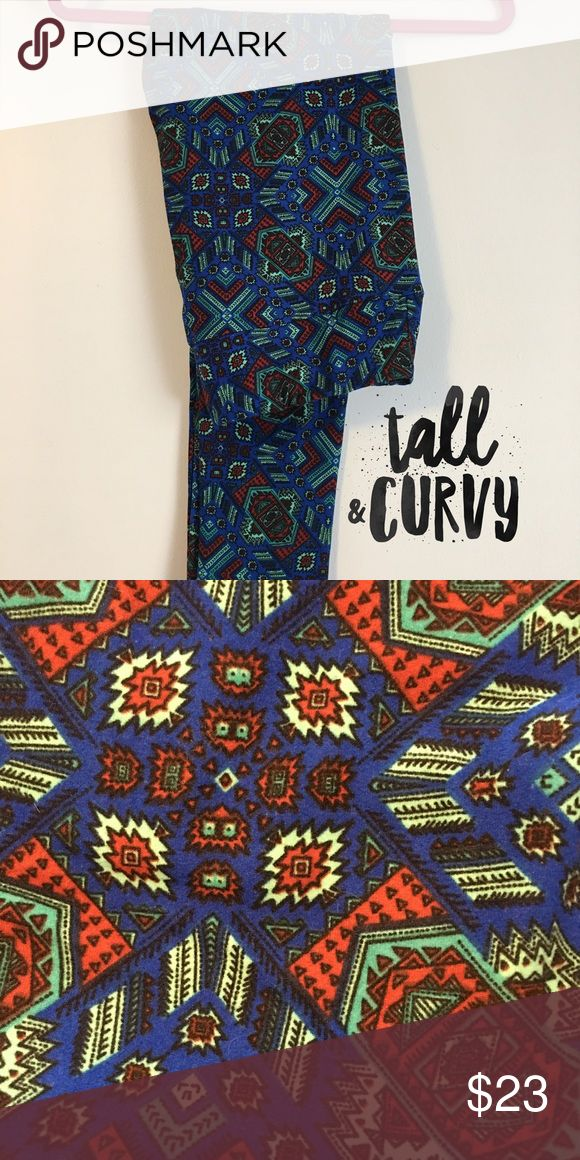 NWOT LuLaRoe Leggings - TC 💙 NWOT LuLaRoe Leggings I'm Tall & Curvy! 💙Blue, mint, red, and black LuLaRoe Pants Leggings