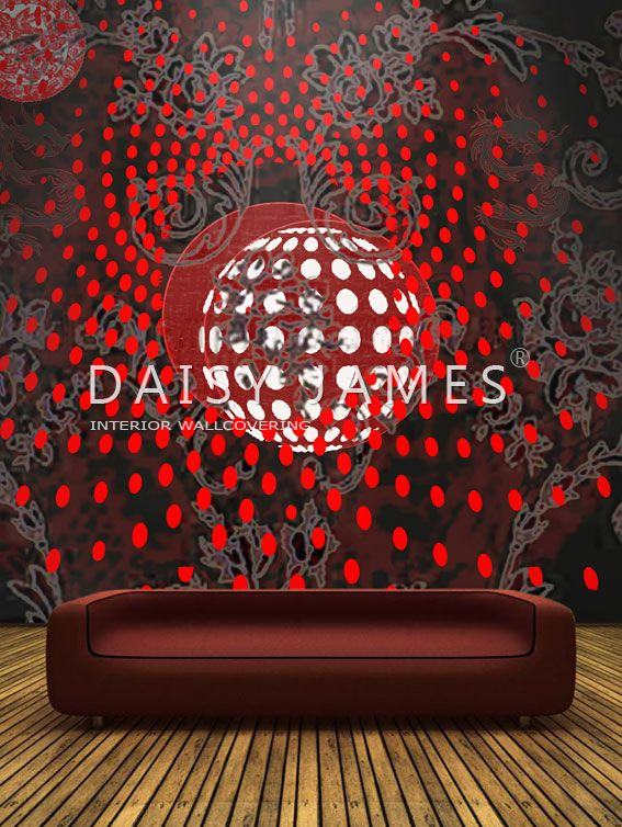 DAISY JAMES wallcover The Dots