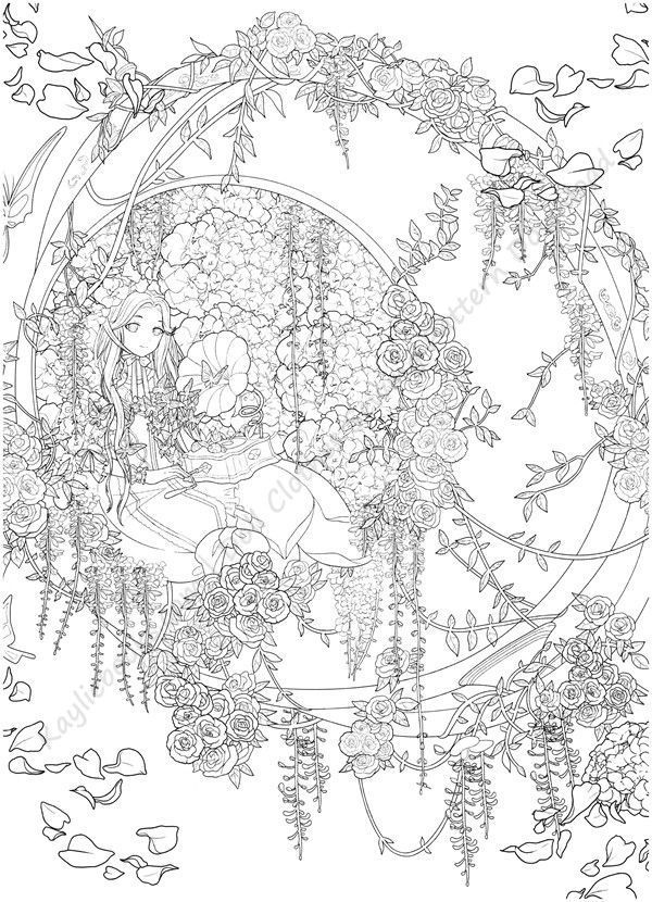 Download Magical Time Traveler Coloring Book Pdf Coloring Pages Nature Detailed Coloring Pages Coloring Pictures