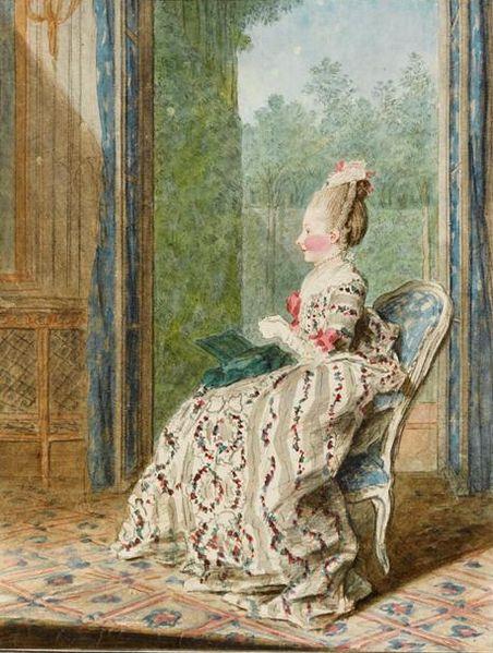 Princess Lamballe by Carmontelle, 1766-67