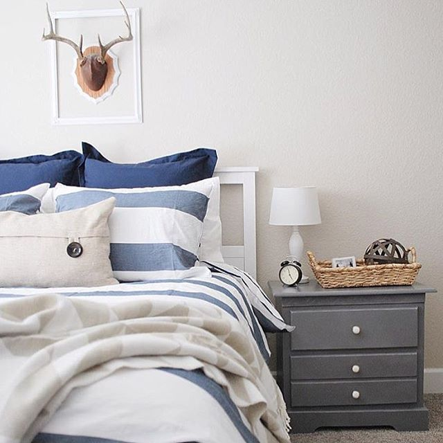 And it's finally bedtime! @painttheworldwhite #overstock #homedecor #home #style #bedtime
