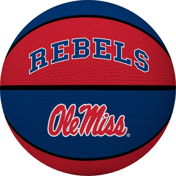 Rawlings Ole Miss Rebels Crossover Full-Size Basketball, Team