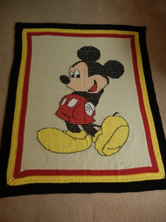 Mickey Mouse Crochet Afghan Pattern Free : 78 Best ideas about Crochet Mickey Mouse on Pinterest ...