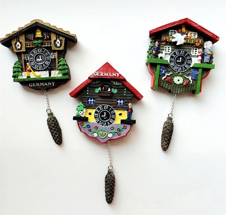 Cheap sticker black, Buy Quality decorative mirror wall stickers directly from China decorative tile stickers Suppliers: Handmade Painted Germany Cuckoo Clock 3D Fridge Magnets Tourism Souvenirs Refrigerator Magnetic Stickers Home Decoration